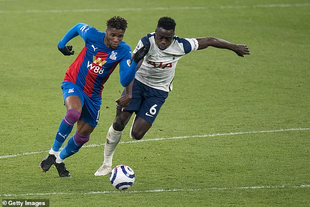 Arsenal's north London rivals Tottenham have recently been linked with the Palace winger