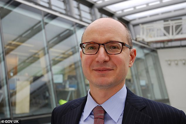 Competition and Markets Authority chief executive Andrea Coscelli (pictured) said the regulator would be 'working closely with the European Commission'