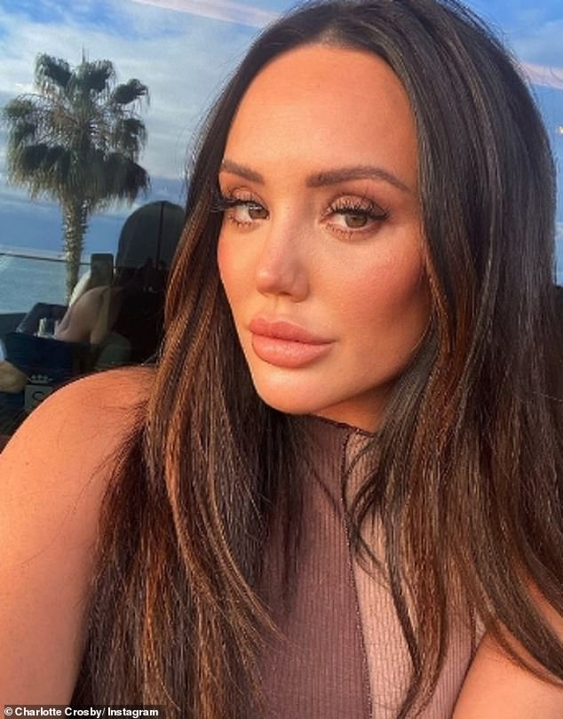 Strike a pose: The reality star uploaded this sultry selfie on Thursday evening as she enjoyed the sunshine