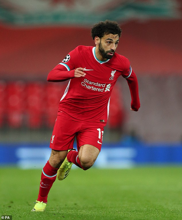 Liverpool's Mohamed Salah scored 22 goals this season - his joint second-highest tally