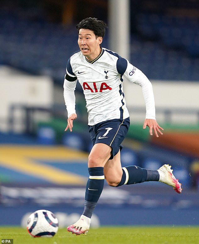 Son Heung-min's 17 goals and 10 assists were his best-ever haul for Tottenham
