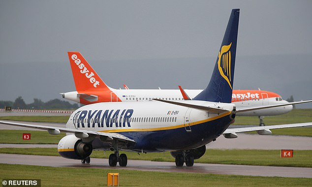 Almost £800m was wiped off the market value of Easyjet, Ryanair, Wizz Air, British Airways-owner IAG and plane engine maker Rolls-Royce as the City braced for another torrid summer