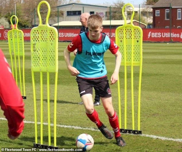 The England Under 16 captain looks likely to leave the League One side at the end of the month