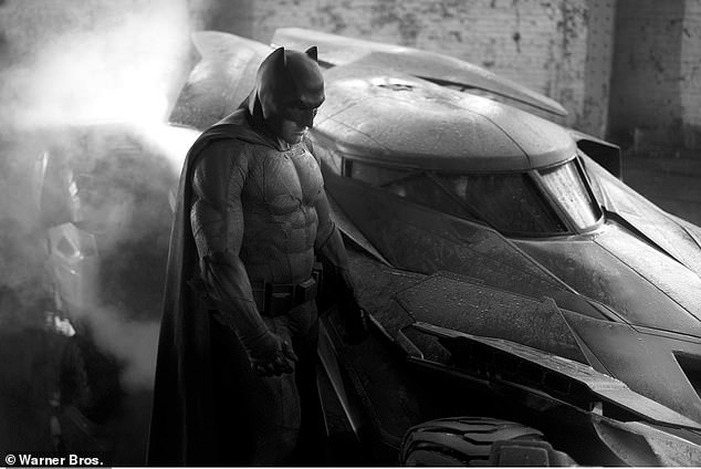 A different look: Ben Affleck took up the superhero's mantle in 2016'sBatman V Superman: Dawn Of Justice and he went on to portray the character in several other features