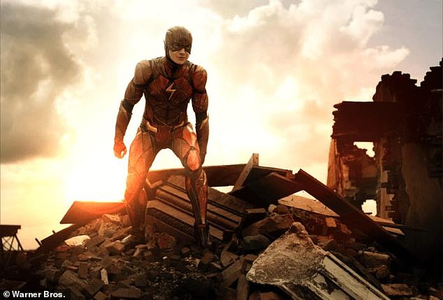 Coming soon: The Flash is set to make its debut in November of 2022 after having its release date pushed back several times