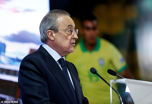 The six English clubs involved in the ESL will ask Florentino Perez to dissolve firm behind it