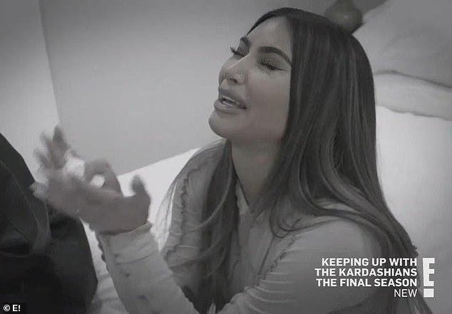 Speaking her mind: The reality television personality recently dished about her relationship woes during an episode of Keeping Up With The Kardashians