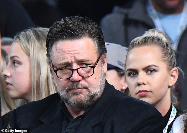 'My father carried his leadership very lightly': Russell has always spoken with great affection of his father - who was the brother of New Zealand cricket champion David Crowe and uncle of the country's former cricket captains Martin and Jeff Crowe