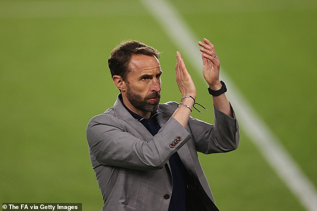 Gareth Southgate is preparing to shoulder the expectations of the nation once again