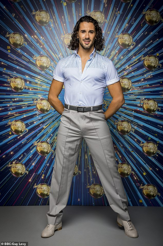 Star:The professional dancer, 27, who hails from a small town in Sicily, told how his dad was so proud to see his son dance on the BBC show that he couldn't stop the tears from flowing, with producers having to change the seating arrangements as a result