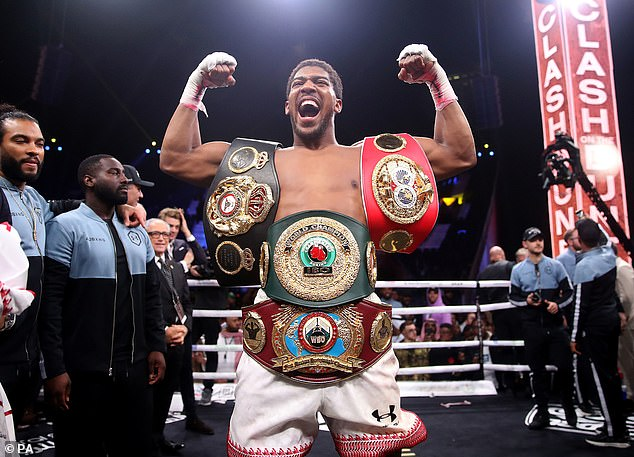 Hearn spent four months trying to get Joshua (above) a highly-anticipated fight with Fury