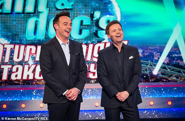 TV gold:Ant and Dec have revealed why their TV partnership will go the distance as they discussed their friendship, which Dec says is built on a 'solid foundation'