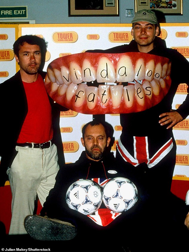 Throwback: The British band formed in 1998 and was made up of Blur bassist Alex James, actor Keith Allen and artist Damien Hirst