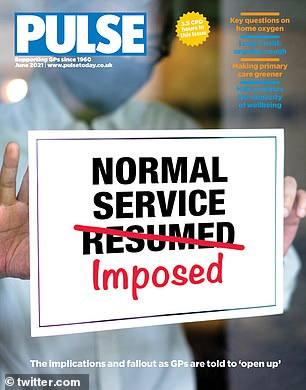 Front cover of GP magazine Pulse
