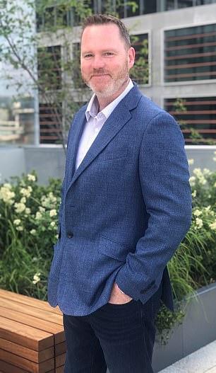Launch: Simon Nicholson has guided Organon's $9.4billion float
