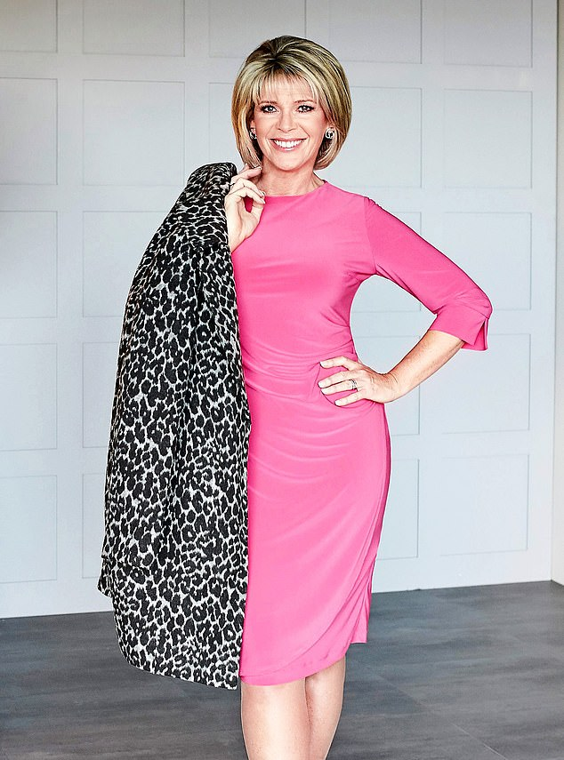 Mature fashion:Ms Langsford has a clothing range for 'the older woman' that she sells on the satellite channel QVC. She also promotes the anti-ageing sun cream Ultrasun UK