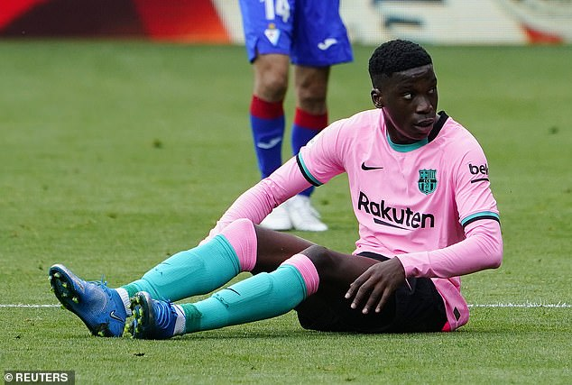 Moriba's current deal expires in June 2022 and Barcelona are determined to retain his services