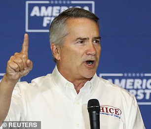 Congressman Jody Hice is mounting a primary challenge to Raffensperger
