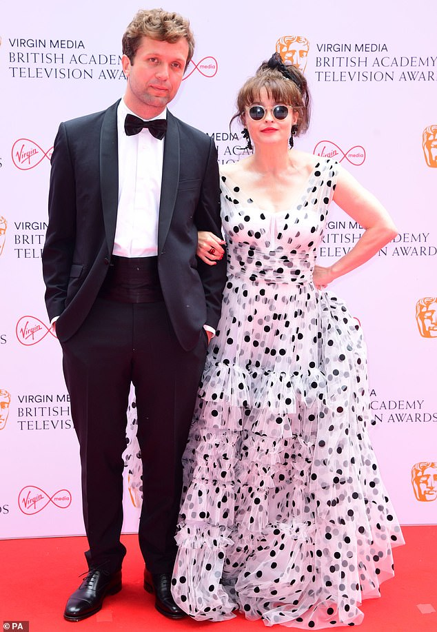 Couple goals? Helena got together with Rye aftershe split from long-term partner Tim Burton after 13 years together