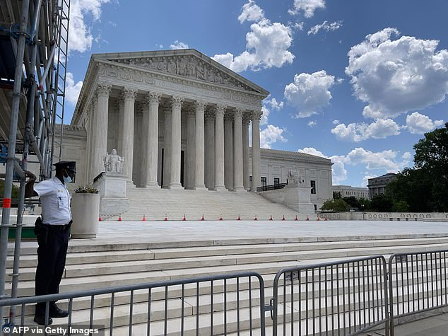 The Supreme Court would consider the constitutionality of the rule that only men must register for the draft. If they decide it is unconstitutional, it would be up to Congress to write a new law