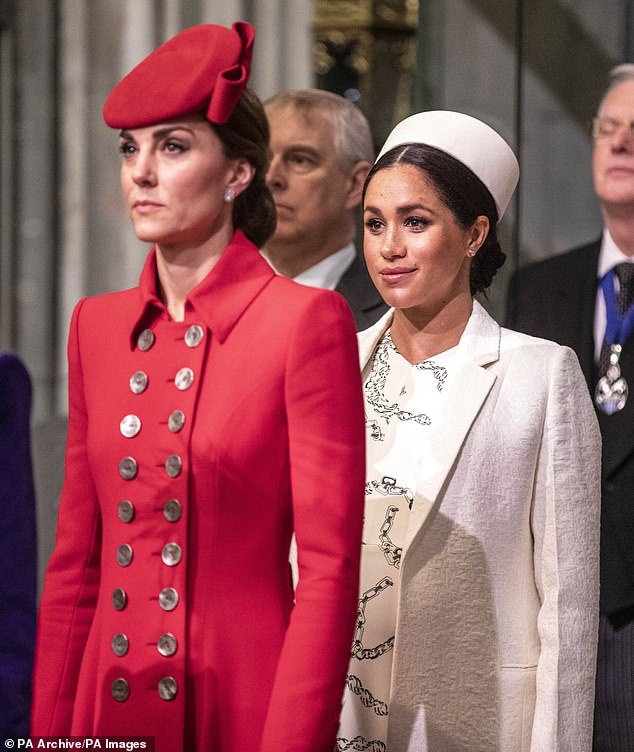 Kate and her sister-in-law in 2019
