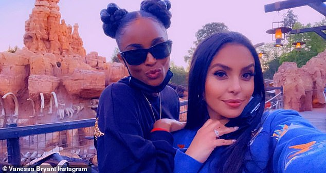 The Happiest Place On Earth! Vanessa Bryant enjoyed another fun-filled day at Disneyland with her best friend Ciara