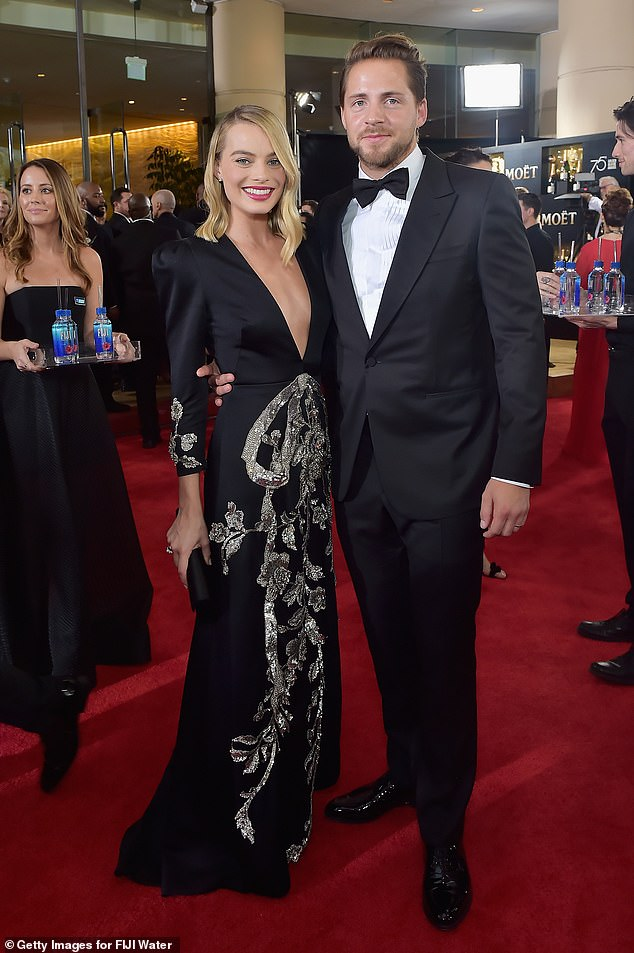 A $6.5million mistake? The Australian actress (left) and her British filmmaker husband (right), splashed $6.5million on two adjacent plots of land near Abbot Kinney Boulevard in the once-elite beachside Venice neighbourhood in 2019
