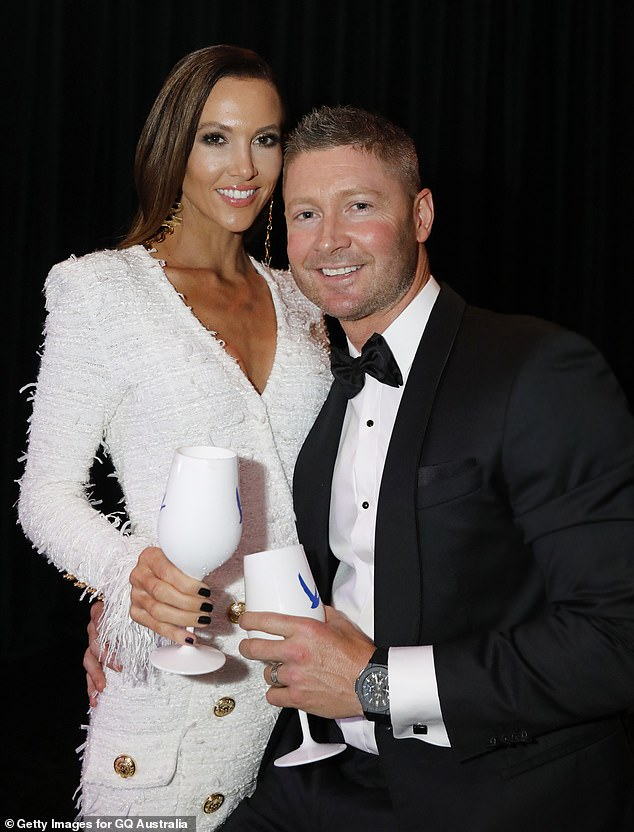 Rumours:On Monday, Kyly denied rumours she's back together with her former husband Michael, telling The Morning Show they're just good friends
