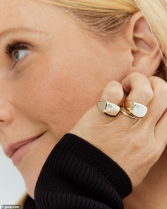 Has a nice ring to it! The pricey pieces were adorned with a delicate diamond touch