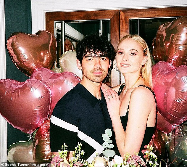 Happily married: Sophie recently celebrated her second wedding anniversary with husband Joe Jonas, 31, with whom she shares 11-month-old daughter Willa