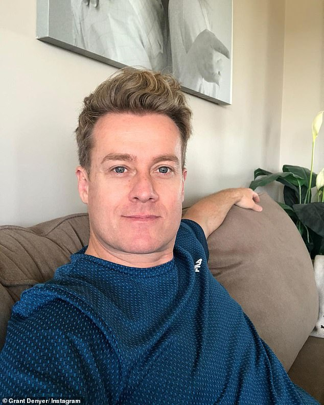 Response:On Monday, New Idea claimed Grant (pictured) 'wasn't happy he was overlooked when it came to fronting The Chase's relaunch'. Larry called him a 'little b**ch' as he responded to claims Grant was furious he wasn't offered a role on the Channel Seven show