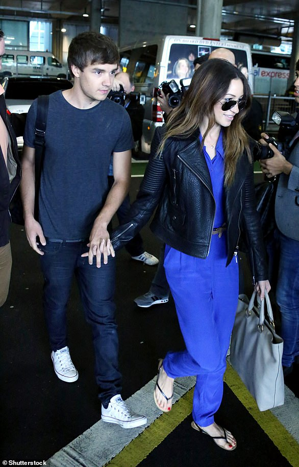 Former flame: Liam Payne dated Danielle Peazar from 2010-2012 after meeting on The X Factor where she worked as a dancer
