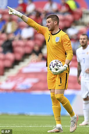 Sam Johnstone made his England debut yesterday in a 1-0 win over Romania
