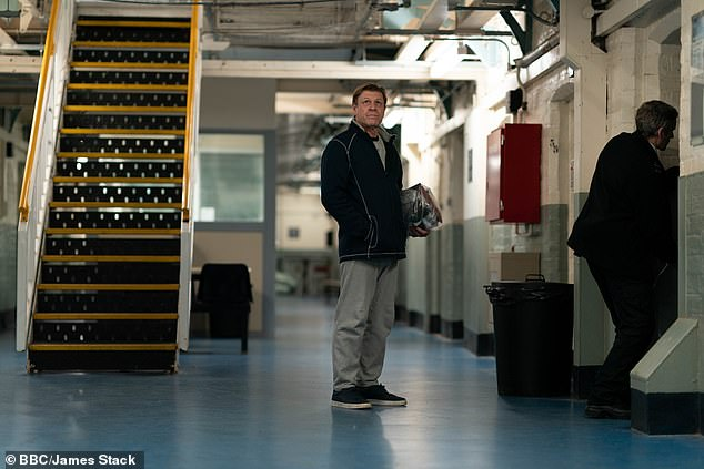 One viewer tweeted: '#Time was a very stressful hour... prison is a bit of a phobia for me, not sure I'll be able to watch next week. It was excellent though - fantastic performances and writing but very very stressful!'