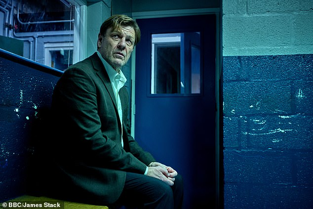 Gritty: The show - which sees Line Of Duty's Stephen Graham and Game Of Thrones' Sean Bean [pictured] play a prison officer and prisoner in the drama - wowed fans after episode one, which featured violence, suicide and the 'grim' reality of life in jail