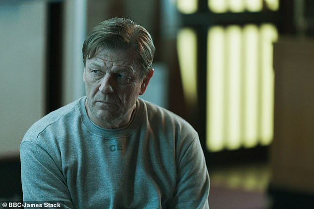 Star Sean Bean said of the show in a recent interview with The Times: 'The uncertainty and fear and trepidation was something that I wanted to express, as though you're looking at it through my eyes'