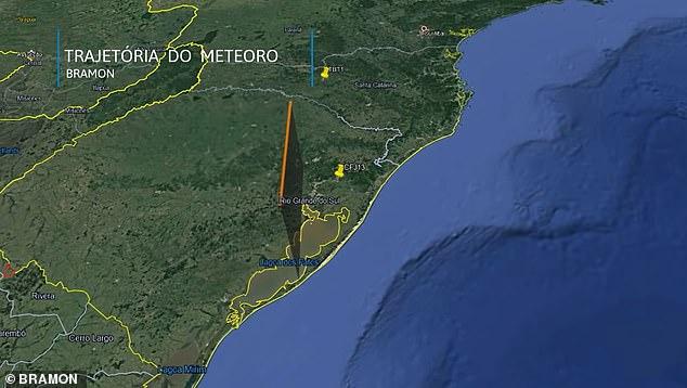 BRAMON analyzed the recording from two cameras in Taquara, Rio Grande do Sul and Tangará, Santa Catarina