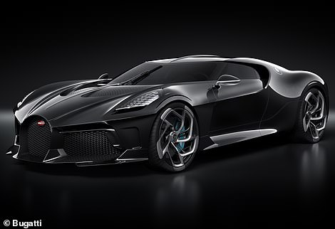 That crown goes to the La Voiture Noire - a one-off super-stealth hypercar unveiled in 2019 with a price tag of £11.4million with VAT