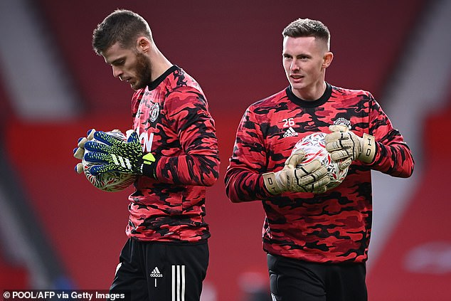 De Gea and Dean Henderson andare battling it out to be the No 1 at Manchester United