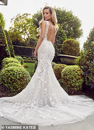 I do:The collaboration is only being featured in luxury bridal retailers and the gowns start at $6K