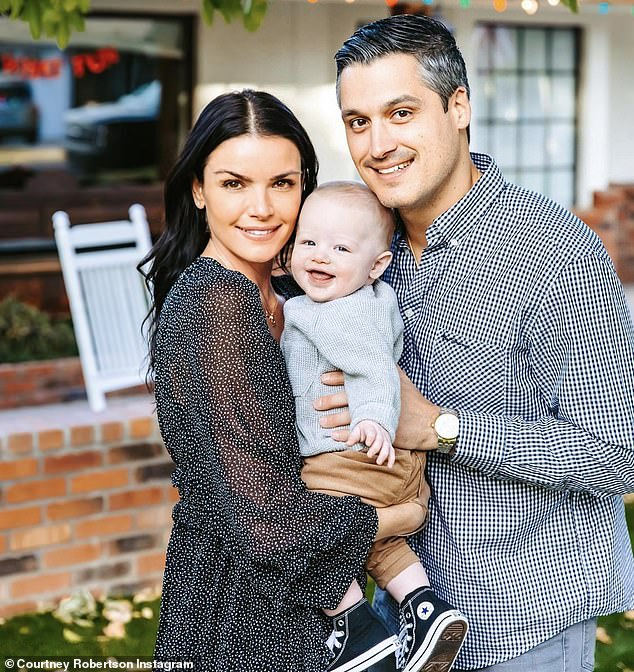 Growing family! Bachelor alum Courtney Robertson is pregnant with her second child with husband Humberto Preciado