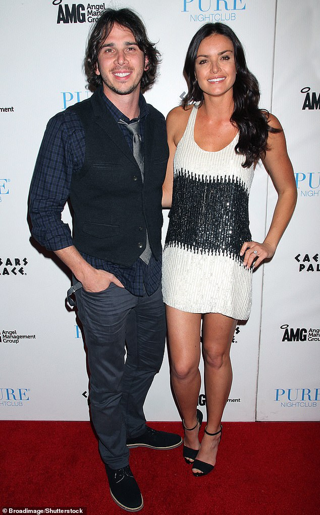 Exes:The model won a proposal from Ben Flajnik in 2012, but the two split shortly thereafter. They're seen in April 2012 above
