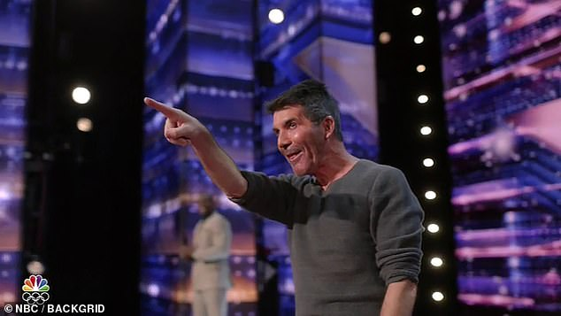 New deal:Simon is planning to feature America's Got Talent stars in a new Las Vegas residency that is worth up to '£10million a year', according to new reports