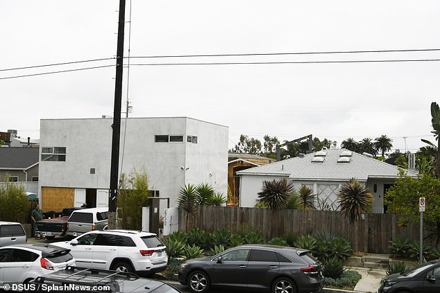 Nothing can stop them!Margot Robbie, 30, and her husband Tom Ackerley, 31, are pressing ahead with the construction of their new dream home in Los Angeles (pictured)despite being warned to 'get out' as the neighbourhood suffers a wave of crime and homelessness
