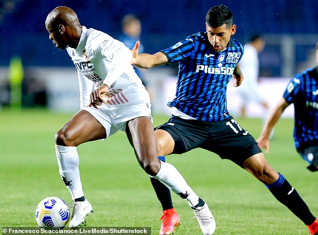 Romero (right) was outstanding in helping Atalanta to third place last season