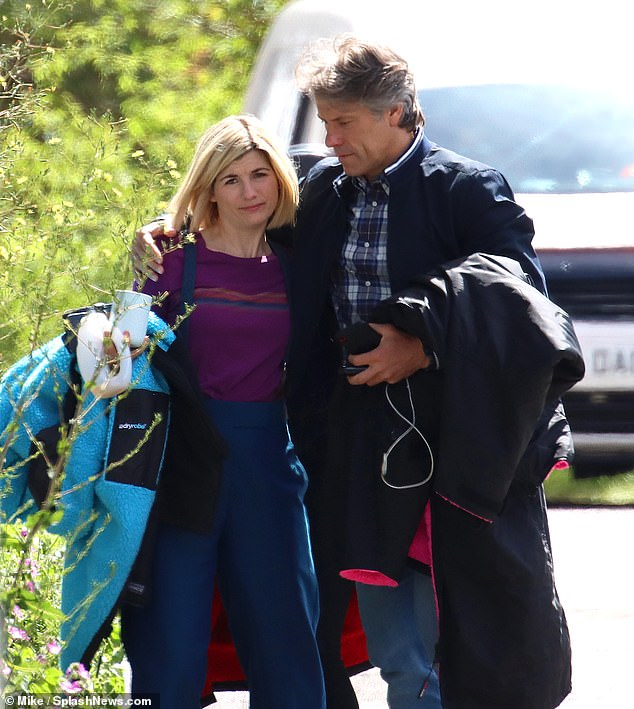 Rumours:The trio's day on set together comes after rumours emerged that Jodie will leave Doctor Who after series 13