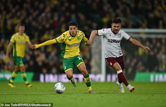 Buendia plied his trade in Spain before heading to England to join Norwich three years ago