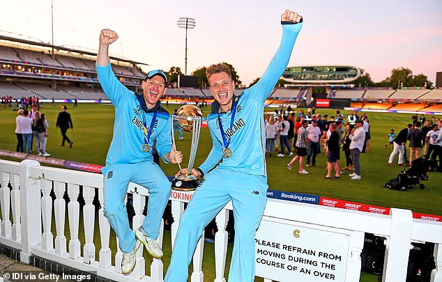 Unsavoury historic tweets from England World Cup-winning stars Eoin Morgan (left) and Jos Buttler (right) went viral on Tuesday