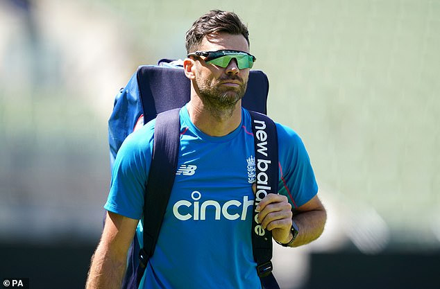 Previous tweets from current England fast-bowler Jimmy Anderson (above) have also emerged