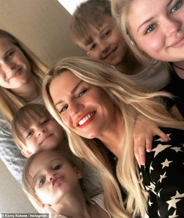 Life-changing decisions: Kerry Katona has revealed she is exploring surrogacy next week while gearing up for a complete transformation on her appearance